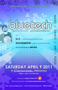 beats bazaar & origins music present Bluetech