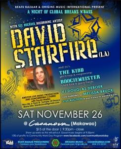 David Starfire November 26th
